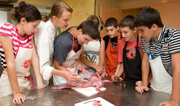Taller cuina adolescents