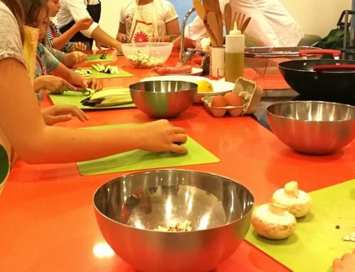 Tallers de cuina per a nens i adolescents