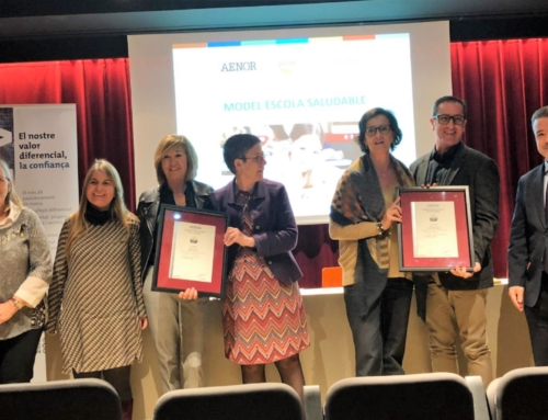 Escola Virolai y Col·legi Badalonès, primeros centros educativos en recibir el certificado de Escuela Saludable