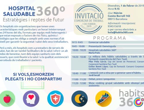 Jornada Hospital Saludable 360º  Estratègies i reptes de futur